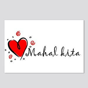 """""""I Love You"""" [Tagalog] Postcards (Package of 8)"""